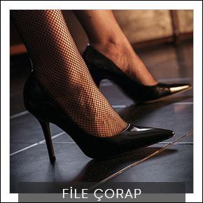 Bayan File Çorap