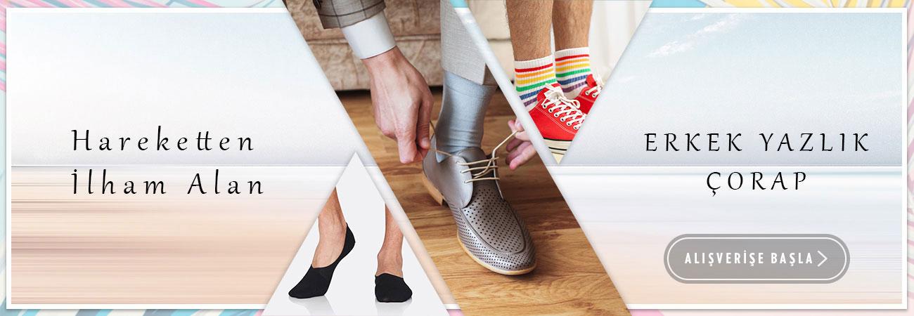 Erkek Yazlık Çorap